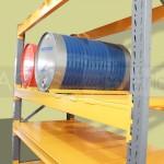 El rack industrial provee de espacios más eficientes para el almacenamiento