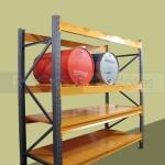 El rack selectivo aprovecha el espacio vertical