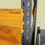 El rack selectivo provee una solución de almacenamiento eficaz