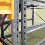Los racks industriales tienen un bajo costo de mantenimiento