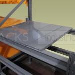 Puede optarse por tablillas opacas o traslúcidas para armar los pisos de la estructura