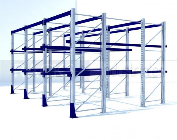 El rack penetrable es la solución eficiente para solucionar diversos problemas en el área del depósito
